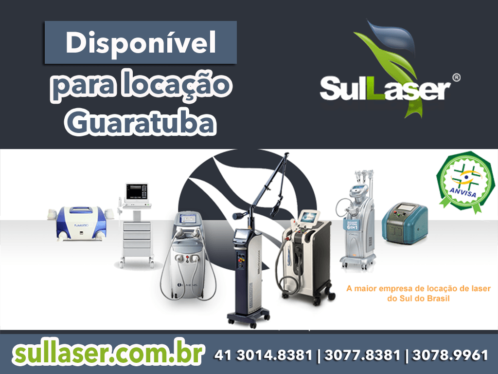 Locação de equipamentos médicos a laser em Guaratuba