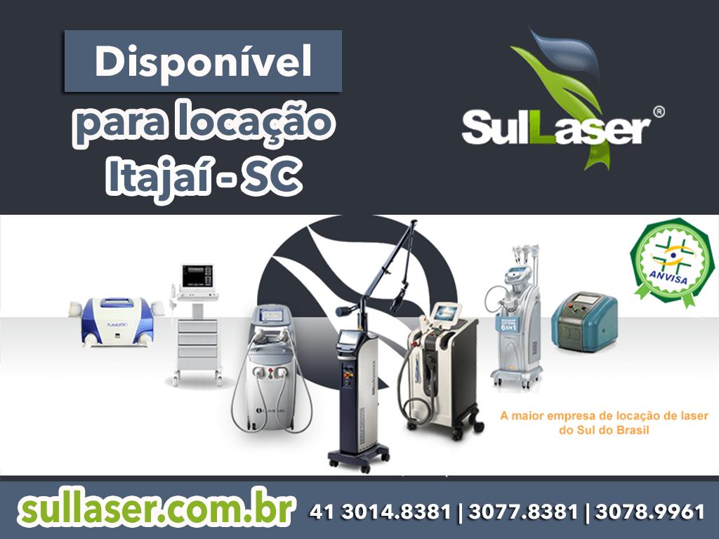 Locação de equipamentos médicos a laser em Itajaí