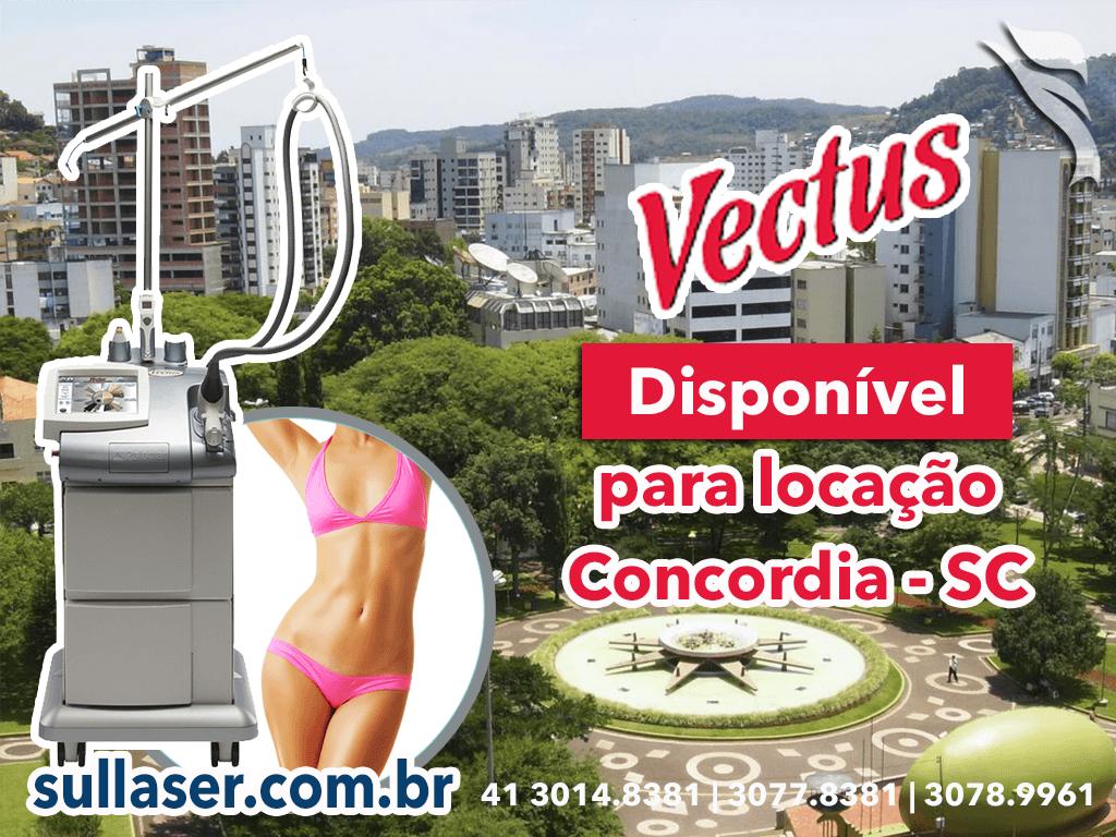 Locação laser Vectus Concórdia