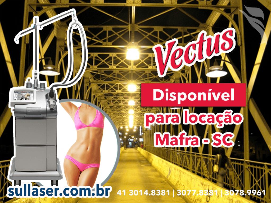 Locação laser Vectus Mafra