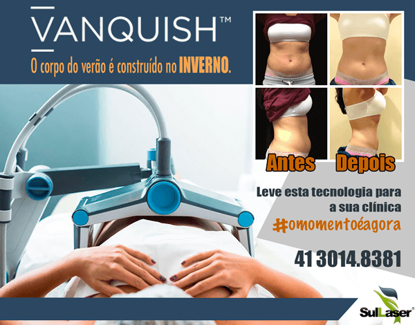 Vanquish é escolhido por júri internacional o melhor equipamento para o contorno corporal