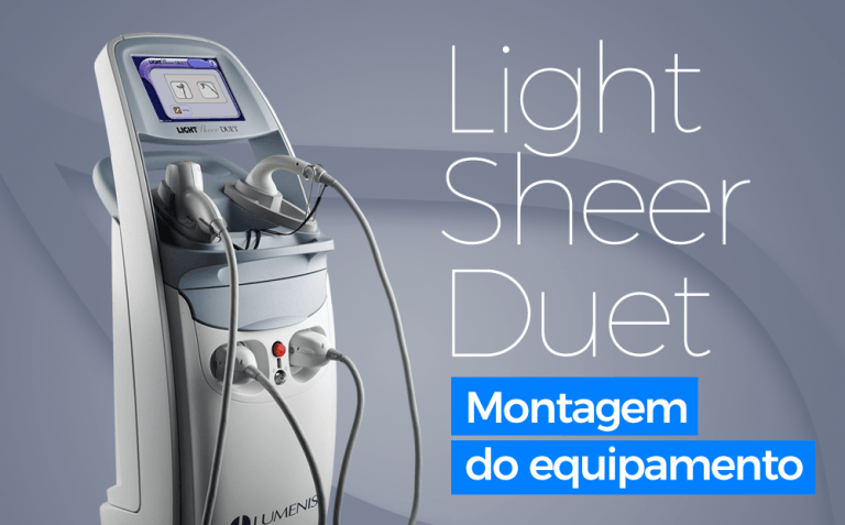 Light Sheer Duet - Montagem do Equipamento