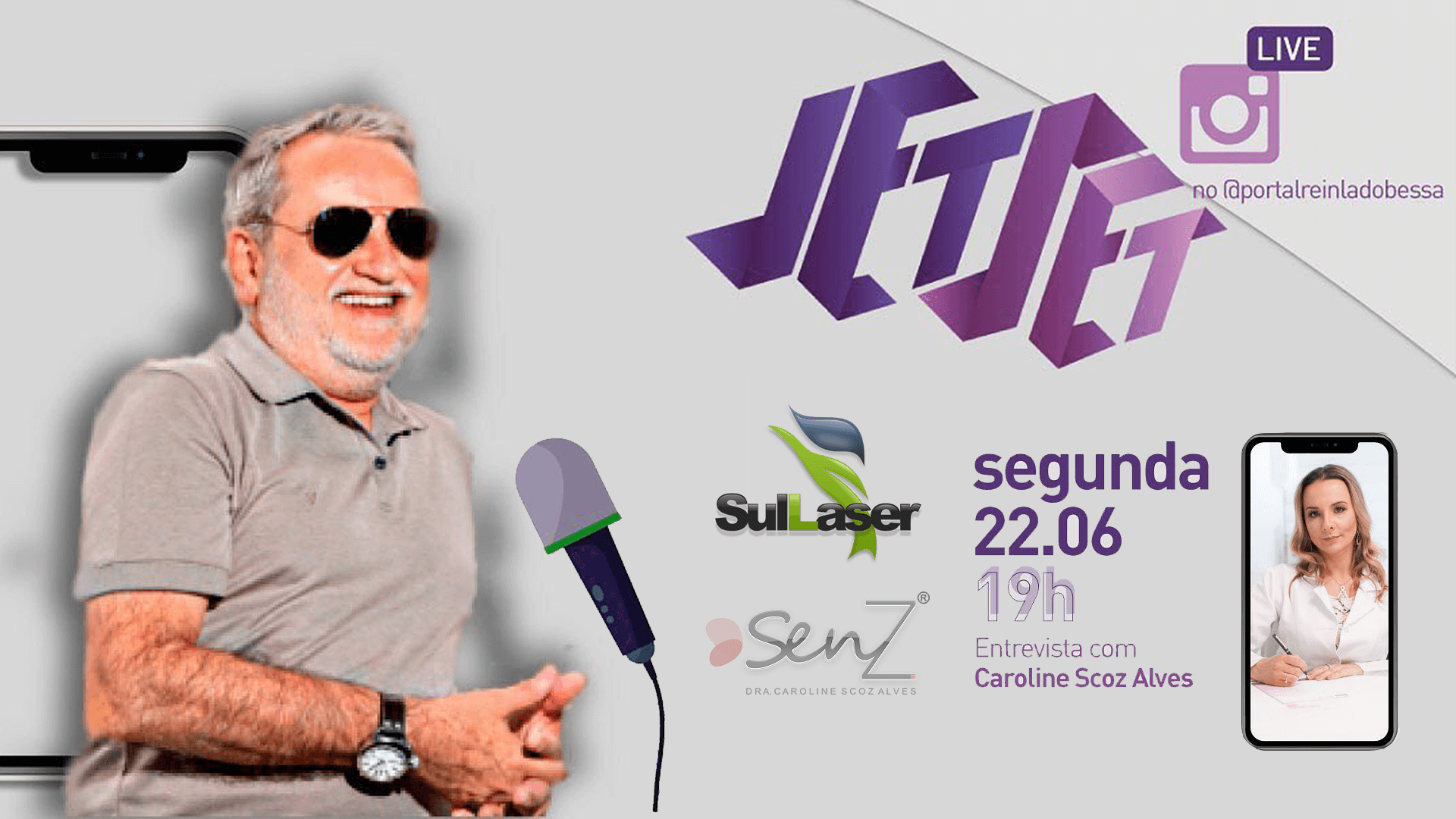 Live Jet Set do dia 22/06/2020