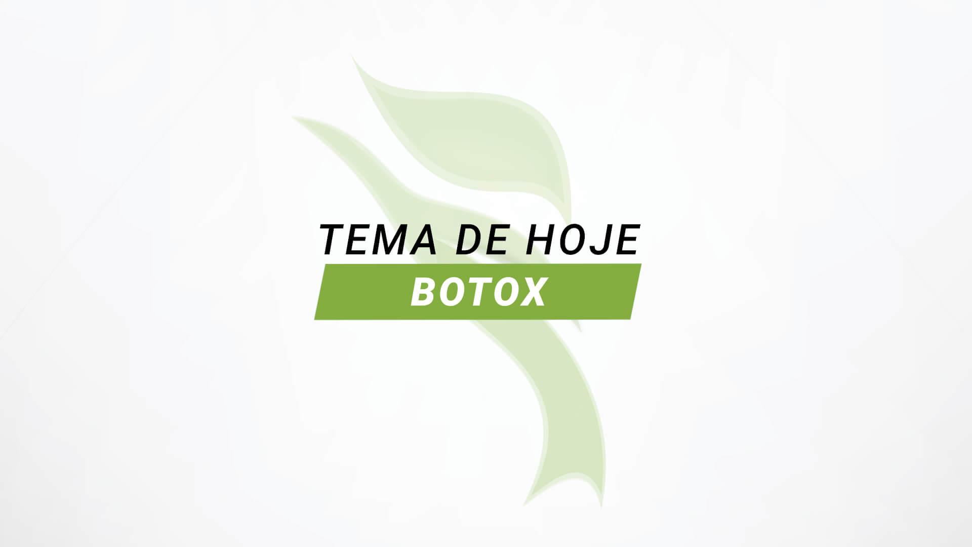 Botox pode ser usado em conjunto com outros tratamentos estéticos